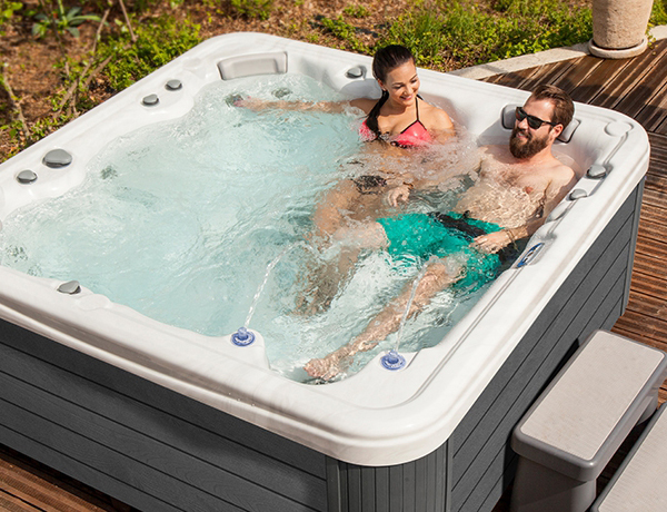 MyLine Hot Tubs Family Image